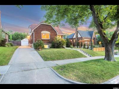 Salt Lake City Single Family Home For Sale: 1358 E Logan Ave S