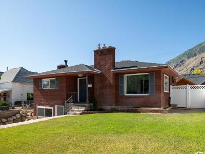 Springville Single Family Home Under Contract: 1207 E 400 S