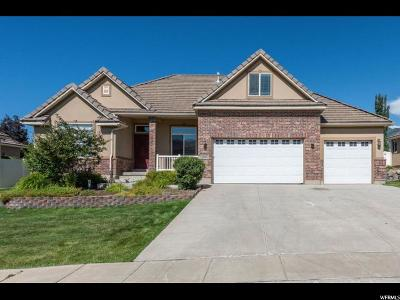 Kaysville Single Family Home Under Contract: 1063 S Kays W