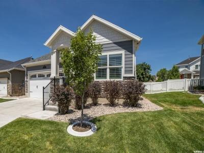 Fruit Heights Single Family Home For Sale: 1215 E Roma S
