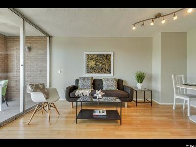 Salt Lake City Condo For Sale: 710 E 200 S #7F