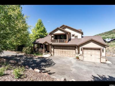 Park City Single Family Home For Sale: 9008 N Cheyenne Way
