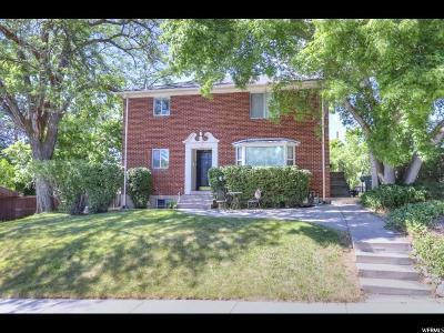 Salt Lake City Multi Family Home For Sale: 1421 E 900 S