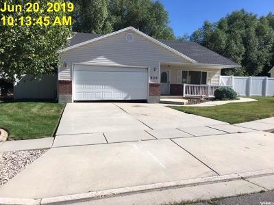 Single Family Home For Sale: 858 E 1500 N