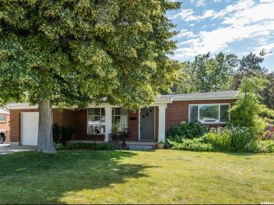 Salt Lake City Single Family Home For Sale: 3341 S 3175 E