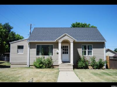 Bountiful Single Family Home For Sale: 444 S 100 W