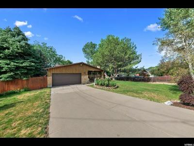Layton Single Family Home Under Contract: 664 E Antelope Dr
