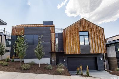 Park City Single Family Home For Sale: 445 Echo Spur #2A