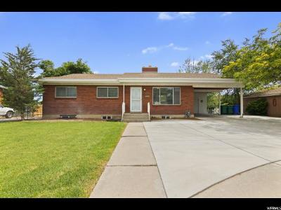 Orem, Provo Single Family Home For Sale: 173 W 850 S