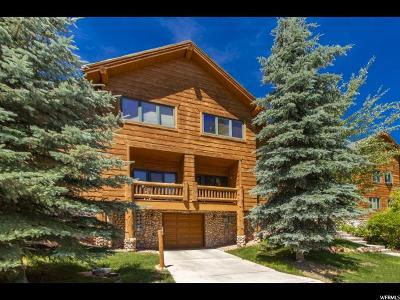 Park City Townhouse For Sale: 3975 Timber Wolf Ln N #2A