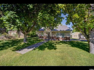 Smithfield Single Family Home Under Contract: 30 S 300 W