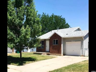 Layton Single Family Home Under Contract: 2480 N 1000 W