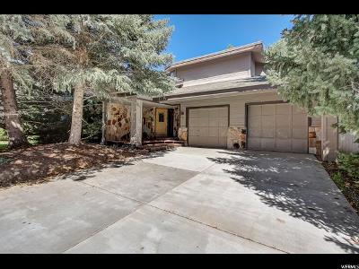 Park City Single Family Home For Sale: 1434 W Meadows Connection