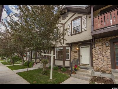 Wasatch County Townhouse For Sale: 844 E Hamlet Cir