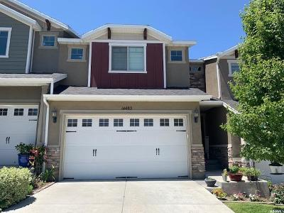 Herriman Townhouse For Sale: 14482 S Edgemere Dr