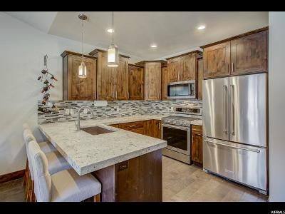 Wasatch County Condo For Sale: 1195 W Black Rock Trl #M