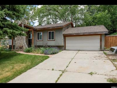 Cottonwood Heights Single Family Home Under Contract: 8443 S Kings Hill Dr