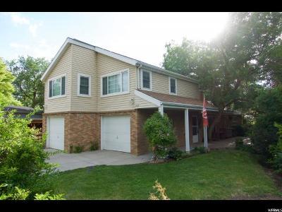 Salt Lake City Single Family Home Under Contract: 4136 S 1135 E