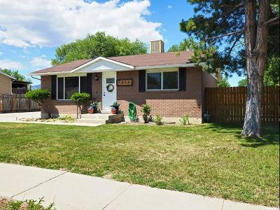 Salt Lake City Single Family Home For Sale: 5858 S Salem Ave