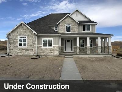 Eagle Mountain Single Family Home For Sale: 1467 E Snowflake Ave #631