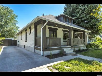 Salt Lake City Single Family Home For Sale: 1040 E Logan Ave S