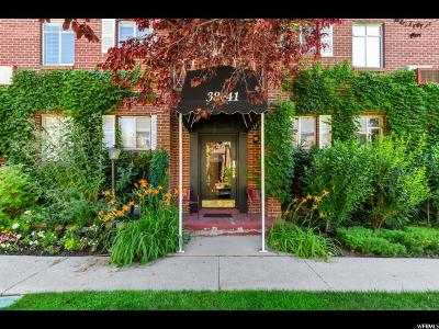 Salt Lake City Condo For Sale: 450 E 100 S #41