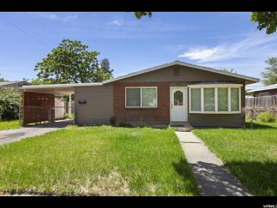 Salt Lake City Single Family Home For Sale: 1215 N Capistrano Dr