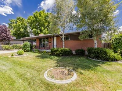 Salt Lake City Single Family Home Under Contract: 1196 E 3745 S