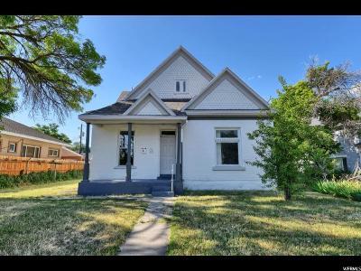 Ogden Single Family Home For Sale: 275 E 33rd St S