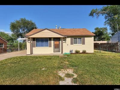 Clearfield Single Family Home For Sale: 296 S 1000 E