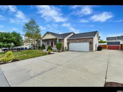 West Jordan UT Single Family Home For Sale: $389,000