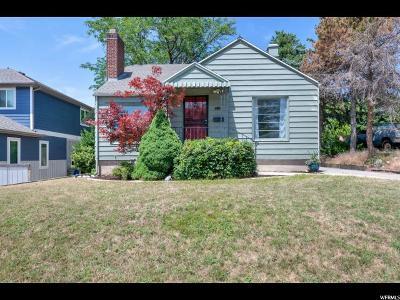 Salt Lake City Single Family Home For Sale: 1237 E Logan Ave S