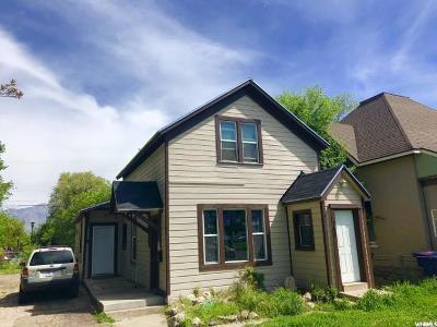 Ogden Single Family Home Under Contract: 748 E 25