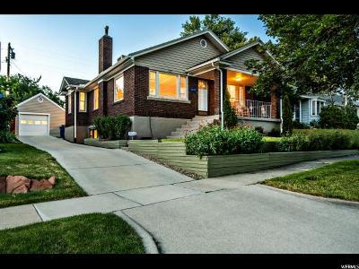 Salt Lake City Single Family Home For Sale: 1727 E Garfield Ave S