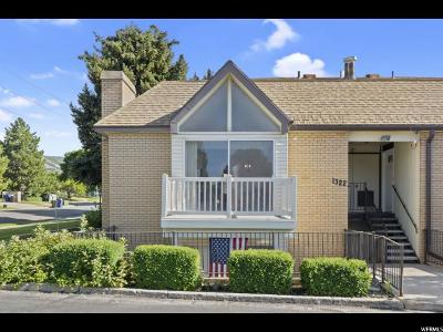 Bountiful Townhouse For Sale: 1322 S 200 W