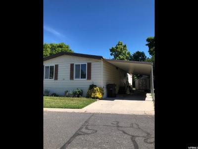 Salt Lake City Single Family Home For Sale: 1261 E Cabrito St