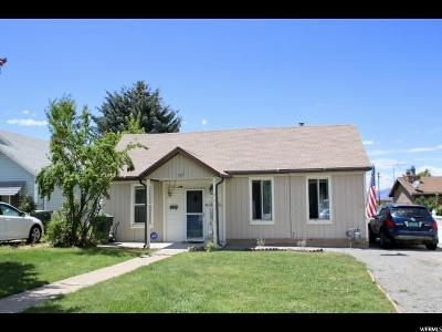 Tooele County Single Family Home For Sale: 167 N 100 E