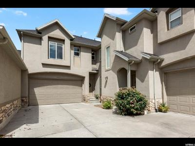 South Jordan Townhouse For Sale: 1620 W Wyngate Park Dr S