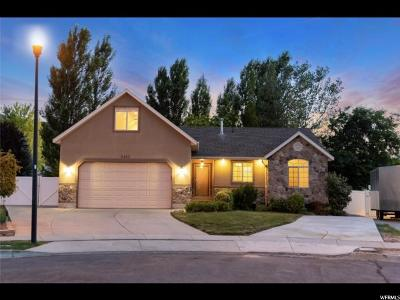Herriman Single Family Home Under Contract: 5457 W New Dawn Cir S