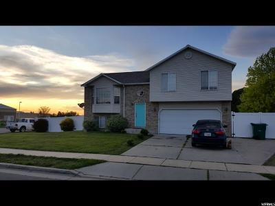 Roy Single Family Home For Sale: 3344 W 4800 S