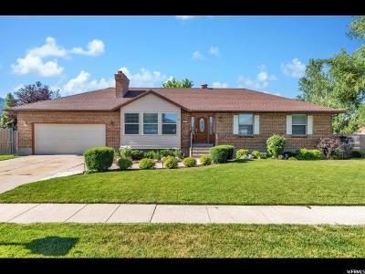 Layton Single Family Home For Sale: 2298 E 2150 N