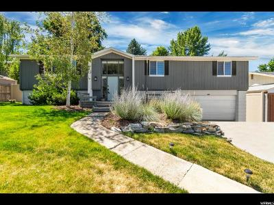 Cottonwood Heights Single Family Home For Sale: 3442 E Danforth Dr