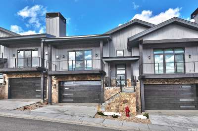 Park City Townhouse For Sale: 4313 Holly Frost Ct #11