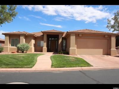 St. George Single Family Home For Sale: 1120 W Roadrunner Dr