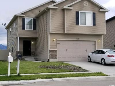 Eagle Mountain Single Family Home For Sale: 4687 N Jordan Way E