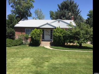 Cottonwood Heights Single Family Home Under Contract: 2873 E Fort Union Blvd