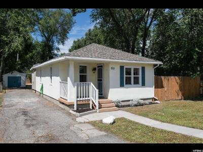 Salt Lake City Single Family Home For Sale: 153 E Helm Ave S