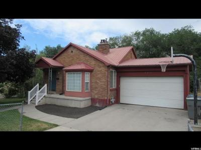 Pleasant Grove Single Family Home For Sale: 143 E 500 N