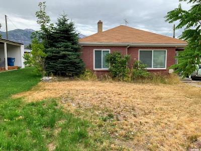 American Fork Single Family Home Under Contract: 374 N Center St