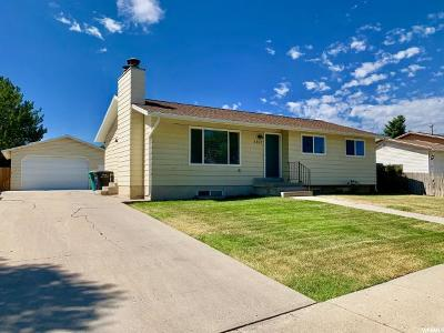 West Jordan UT Single Family Home For Sale: $319,000
